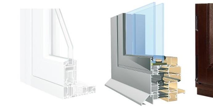 okna drewniane aluminiowe PCV - jak dobrać