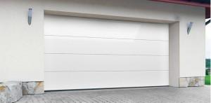 Brama garażowa segmentowa – gładki panel DK-GP