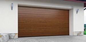 Brama garażowa segmentowa – przetłoczony panel DK-PP