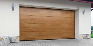 Brama garażowa segmentowa – wysokoprzetłoczony panel DK-WPP