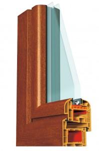 Okno PCV Brugmann 73 Arte