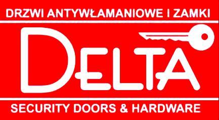 Delta drzwi stalowe, drewniane zewnętrzne antywłamaniowe Łódź