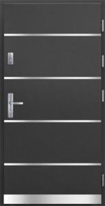 Drzwi zewnętrzne płytowe Pasywne PA Łódź Świat Okien - wzór Pasywne2
