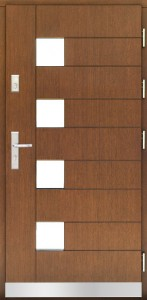 Drzwi zewnętrzne płytowe WP Exlusive Łódź Świat Okien - wzór WP19-nowe
