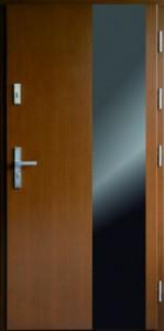 Drzwi zewnętrzne płytowe WP Exlusive Łódź Świat Okien - wzór WP20