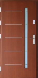 Drzwi zewnętrzne płytowe WP Exlusive Łódź Świat Okien - wzór wp3inox