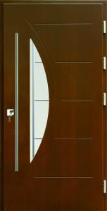 Drzwi zewnętrzne płytowe WP Exlusive Łódź Świat Okien - wzór WP1