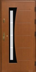 Drzwi zewnętrzne płytowe WP Exlusive Łódź Świat Okien - wzór wp6