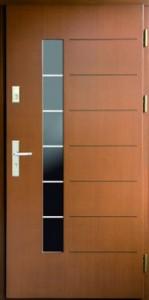 Drzwi zewnętrzne płytowe ZP Łódź Świat Okien - wzór ZP12