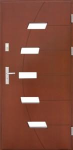 Drzwi zewnętrzne płytowe ZP Łódź Świat Okien - wzór zp4