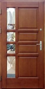 Drzwi zewnętrzne ramiakowo płycinowe Łódź Świat Okien - wzór115