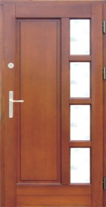 Drzwi zewnętrzne ramiakowo płycinowe Łódź Świat Okien - wzór12