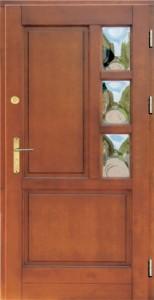 Drzwi zewnętrzne ramiakowo płycinowe Łódź Świat Okien - wzór13