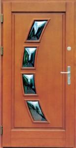Drzwi zewnętrzne ramiakowo płycinowe Łódź Świat Okien - wzór14