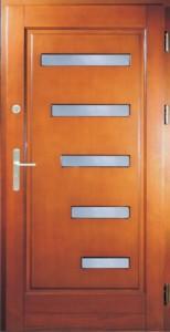 Drzwi zewnętrzne ramiakowo płycinowe Łódź Świat Okien - wzór15