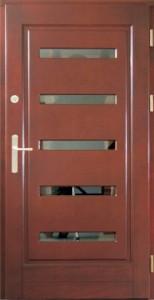 Drzwi zewnętrzne ramiakowo płycinowe Łódź Świat Okien - wzór16