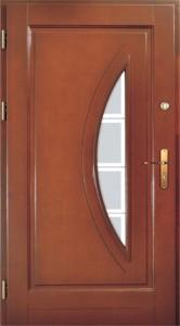 Drzwi zewnętrzne ramiakowo płycinowe Łódź Świat Okien - wzór17