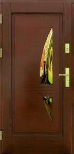 Drzwi zewnętrzne ramiakowo płycinowe Łódź Świat Okien - wzór17a