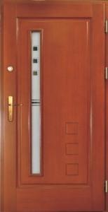 Drzwi zewnętrzne ramiakowo płycinowe Łódź Świat Okien - wzór18