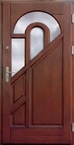 Drzwi zewnętrzne ramiakowo płycinowe Łódź Świat Okien - wzór2