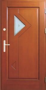Drzwi zewnętrzne ramiakowo płycinowe Łódź Świat Okien - wzór21