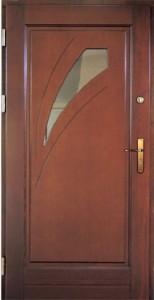Drzwi zewnętrzne ramiakowo płycinowe Łódź Świat Okien - wzór24