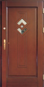 Drzwi zewnętrzne ramiakowo płycinowe Łódź Świat Okien - wzór26