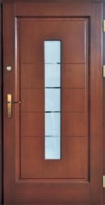 Drzwi zewnętrzne ramiakowo płycinowe Łódź Świat Okien - wzór27