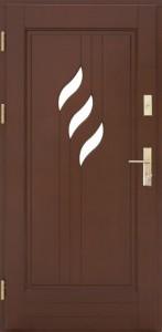 Drzwi zewnętrzne ramiakowo płycinowe Łódź Świat Okien - wzór29
