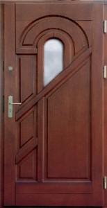 Drzwi zewnętrzne ramiakowo płycinowe Łódź Świat Okien - wzór2b