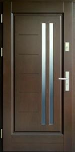 Drzwi zewnętrzne ramiakowo płycinowe Łódź Świat Okien - wzór33
