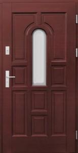 Drzwi zewnętrzne ramiakowo płycinowe Łódź Świat Okien - wzór4b