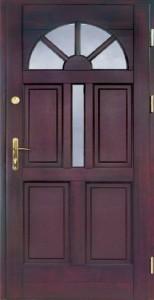 Drzwi zewnętrzne ramiakowo płycinowe Łódź Świat Okien - wzór6a