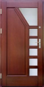 Drzwi zewnętrzne ramiakowo płycinowe Łódź Świat Okien - wzór7a