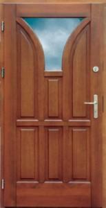 Drzwi zewnętrzne ramiakowo płycinowe Łódź Świat Okien - wzór8