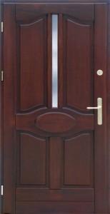 Drzwi zewnętrzne ramiakowo płycinowe Łódź Świat Okien - wzór9
