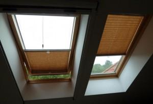 Plisy do okien dachowych - Łódź Świat Okien