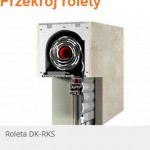 Rolety nadprożowe - PRZEKRÓJ - Łódź Świat Okien