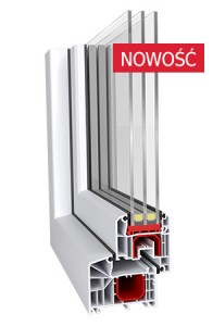 Okno PCV Ideal 4000 85 mm