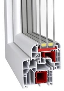 Okno PCV Ideal 8000