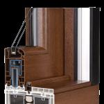 okno PCV Schuco - lato HS (rama)
