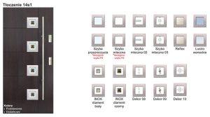 KMT drziw zewnętrzne - Tłoczenie 14s1