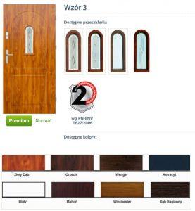 WIKĘD Drzwi zewnętrzne stalowe wzór - 3