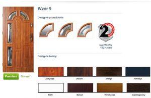 WIKĘD Drzwi zewnętrzne stalowe wzór - 9
